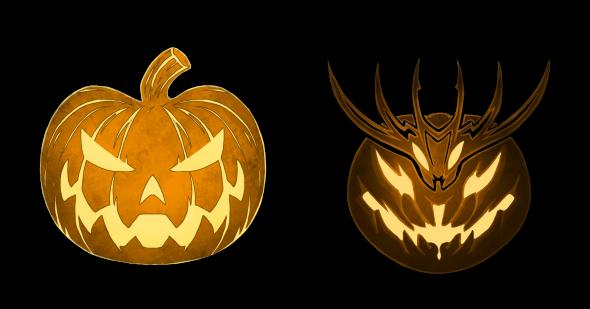 landylachs-jack-o-lantern-and-mad-king-thorn
